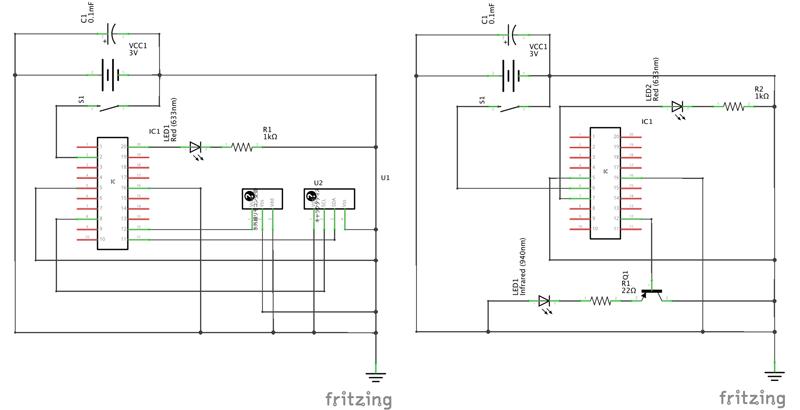 発信機回路図