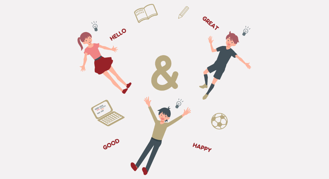 Let's study English together!