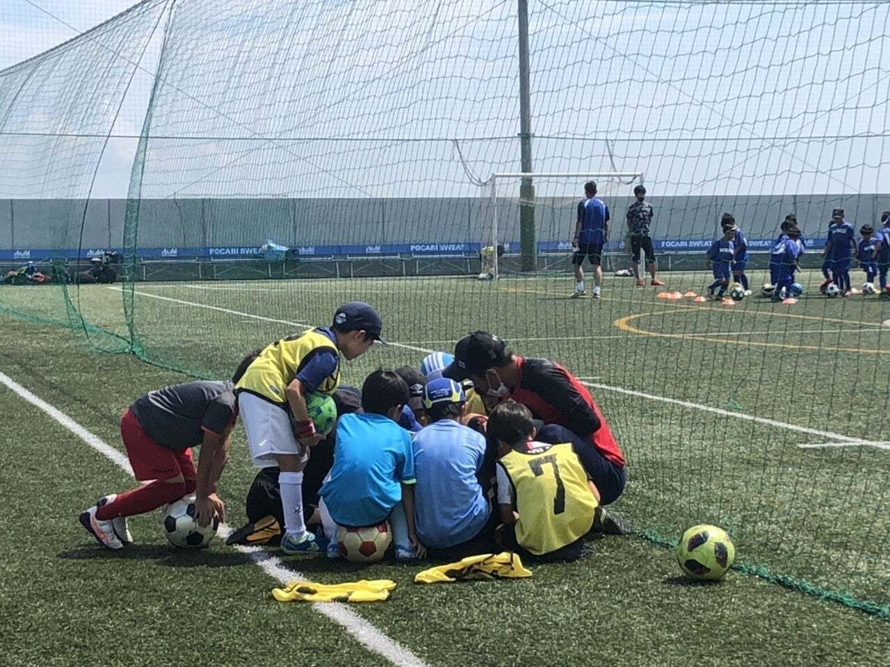 Goalkick tactics kids soccer