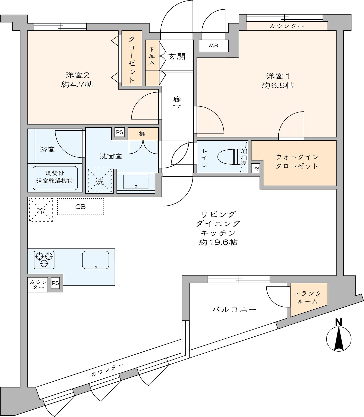 グレイス横浜ポートシティ(間取り)
