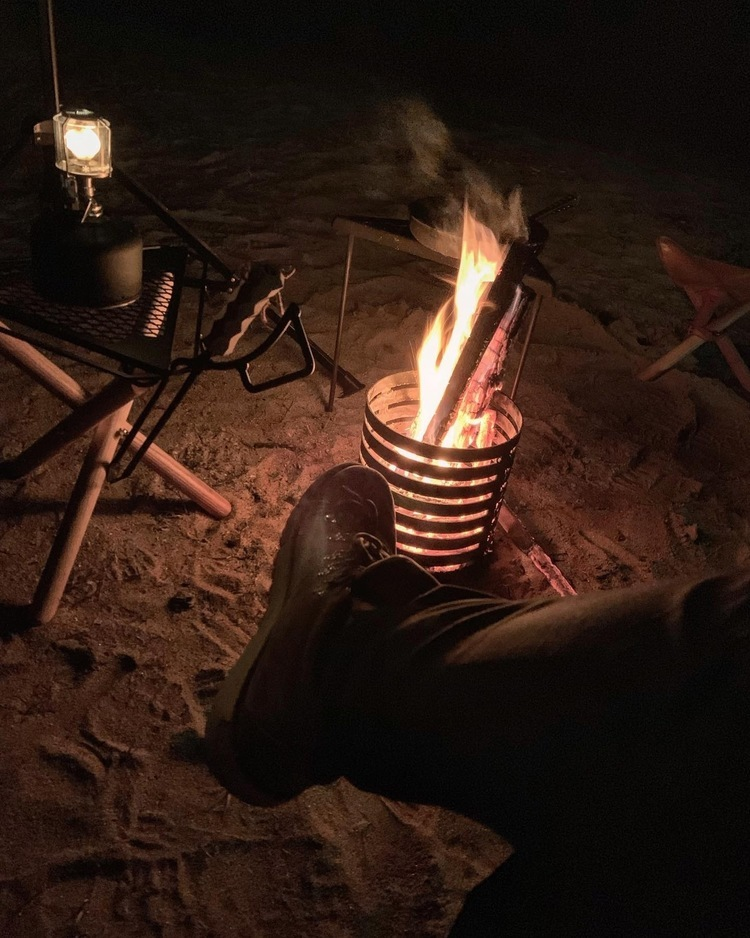 こんなソロキャン憧れる!ベテランキャンパーさんがたどり着いた、おしゃれで愉快なキャンプスタイル。