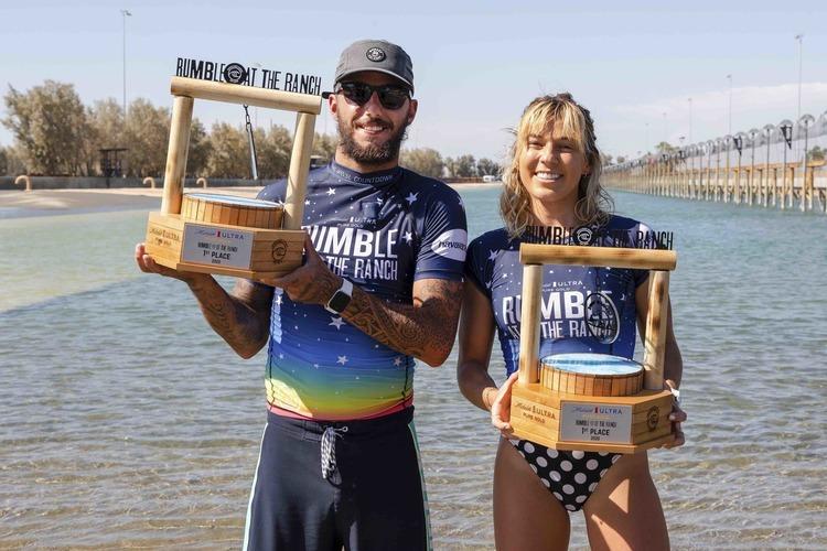 "【WSL】Filipe Toledo & Coco Hoペアが優勝! 今大会最高トータルスコアを出した五十嵐カノア & Tatiana Weston-Webbペアは準優勝を果たす! Surf Ranchで開催された""Michelob ULTRA Pure Gold Rumble at the Ranch""が無事終了"