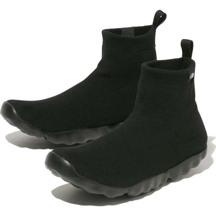 ザ・ノース・フェイスの新作防水シューズは靴下系で変わり種ソール!