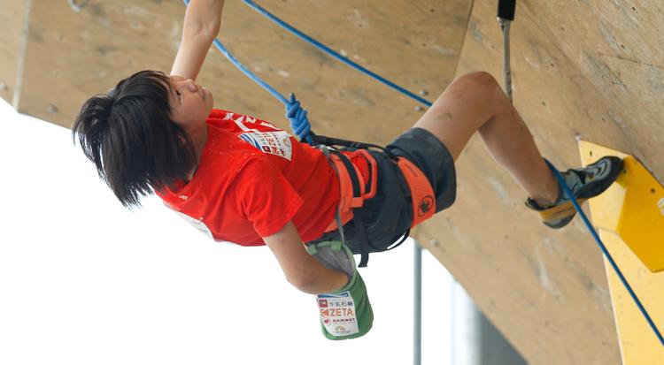 森秋彩「また感動してもらえるような登りがしたい」 リードジャパンカップ2020