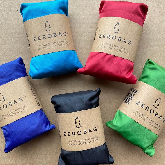"""ペットボトル100%素材!究極のエコバッグ""""Zerobag 2.0""""が日本初上陸!"""