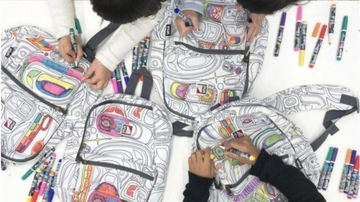 【インタビュー】リュックが塗り絵に!?INUKのバッグが最高だった!