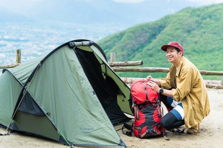 Keishi Tanaka「月と眠る」#9 山でのテント泊に想いをはせて