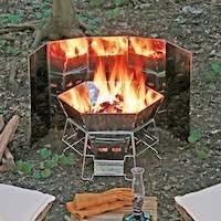 焚き火シーズン到来 秋冬キャンプを手軽に楽しむ焚き火アイテム
