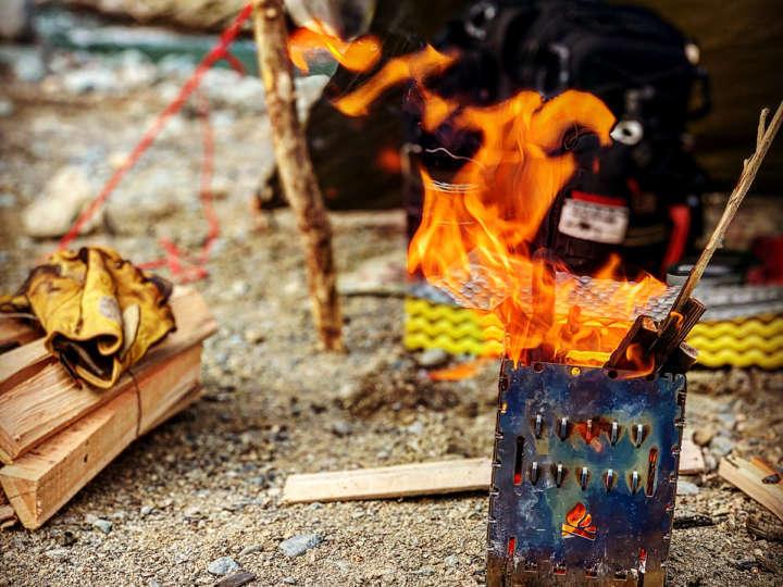 ソロ向き焚き火台「ブッシュボックス」のメリット・デメリット