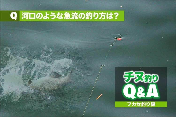 チヌ・フカセ釣りの悩みを解消!!|河口のような急流の釣り方は?