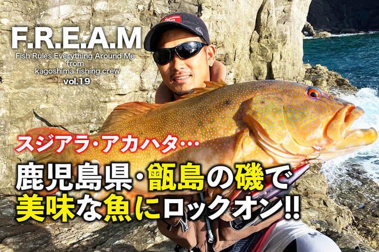 スジアラ・アカハタ… 鹿児島県・甑島の磯で美味な魚にロックオン!!|【F.R.E.A.M.vol.19】