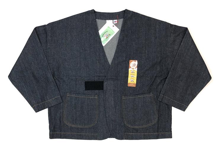 チルタイムの相棒に。祐天寺の名店SUPERMARKETから、サイズフリーの大判デニムジャケットが到着。
