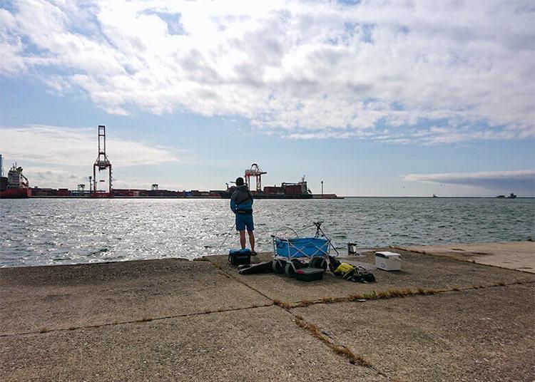 日釣振主催「苫小牧一本防の試釣!」 に参加してみて分かった釣り場のコト