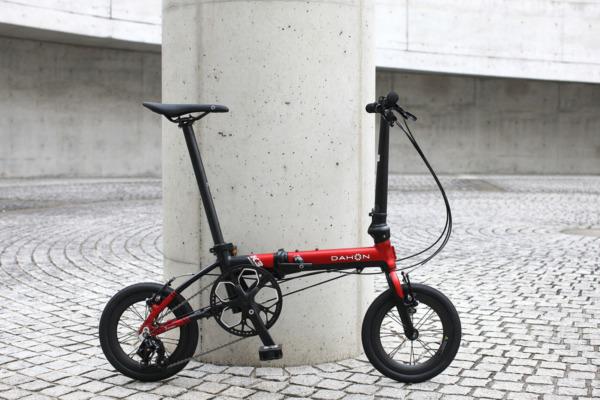 超小径折りたたみ自転車「DAHON K3」用カーボンホイールが登場