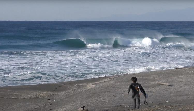 【西高東低愛好会】まさかのエキサイティングなチューブ波に遭遇!! 和光大と村上連による1DAY TRIP