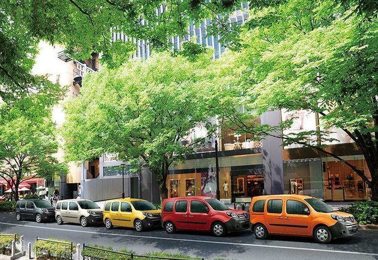 5色のボディカラーがオシャレ! ルノー・カングーにカラフルな限定車「パナシェ」が登場