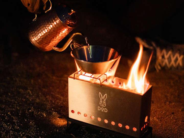 おもしろネーミングとファッション性が評判!DODの焚き火台でお勧めは?