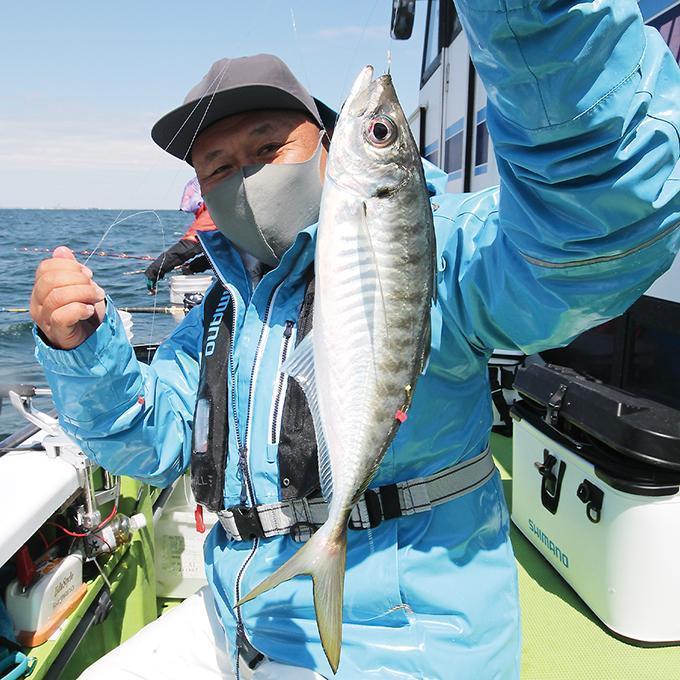 半日船でお土産バッチリ!美味アジが数釣り好調!東京湾・走水沖