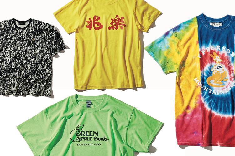 デザインで攻める、夏の勝負Tシャツ9選。