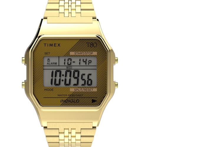 タイメックスの定番クラシック・デジタルが、80年代デザインに。