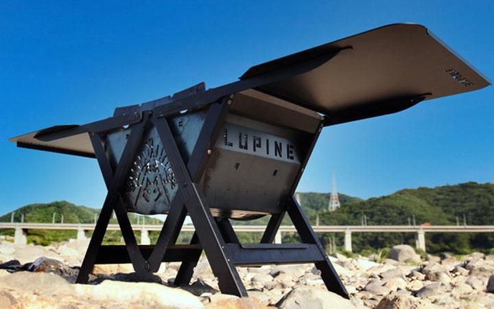 簡単組立で耐久性抜群の「LUPINE 焚き火台」が先行予約受付を開始!