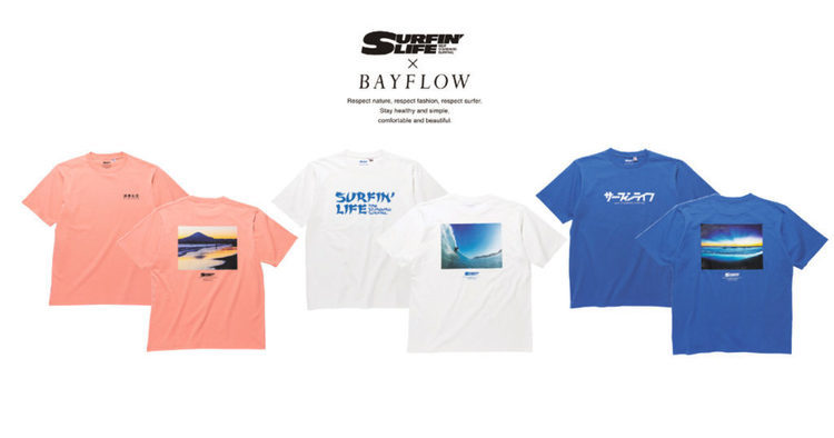 Gallery by BAYFLOW ×SURFIN'LIFE コラボTEE発売