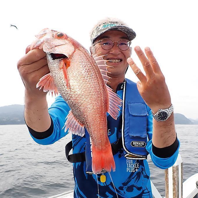 深海の超高級美味魚2種が登場!稲取沖のアカムツ&アラ!