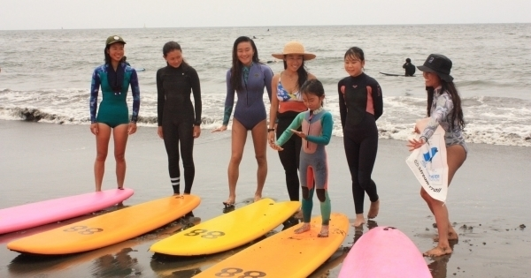 『海の寺子屋 GIRLS SURF CAMP ~ 海と日本プロジェクト ~』開催報告