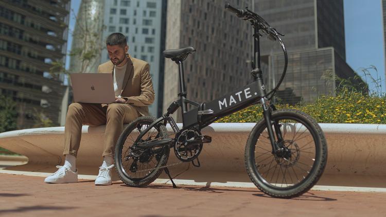 街乗りに特化した折りたたみE-Bike「MATE CITY」登場