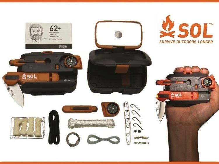 【SOL】生き残るための必須の道具が手のひらに。SOLのサバイバルキット