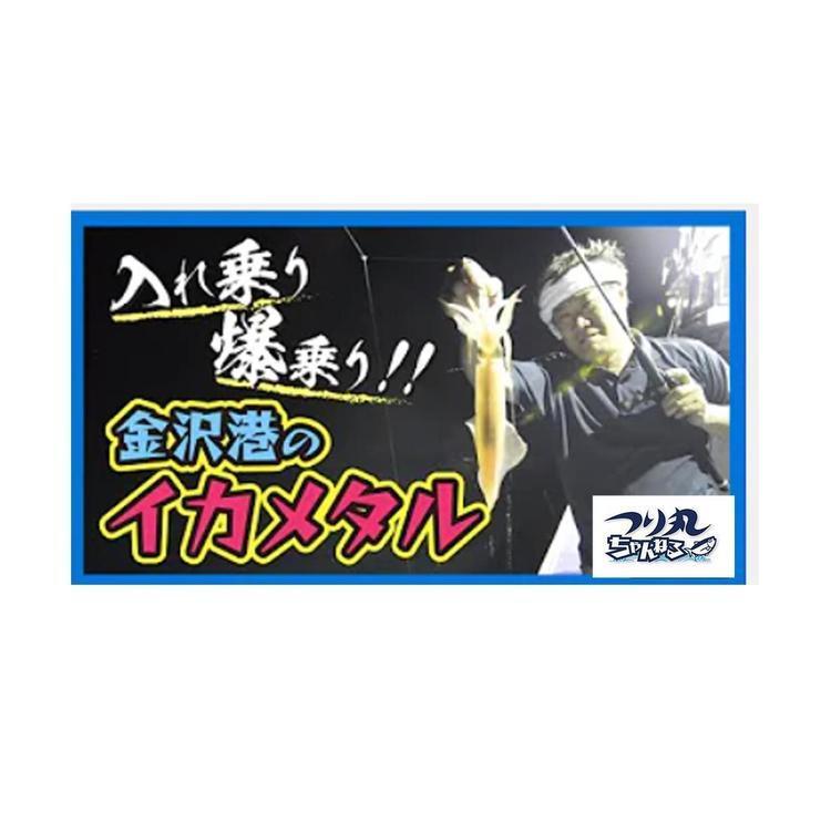 【動画】入れ乗り!爆乗り!!金沢沖のイカメタル