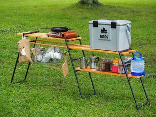 【レビュー&DIY】DODのテキーラキッチンレッグとワンバイ材で理想のキッチン作りに挑戦!