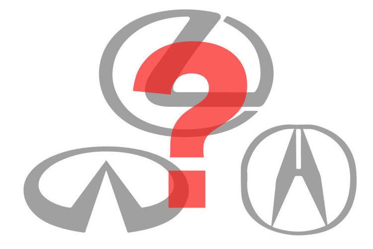 【車のクイズ】国産メーカーの高級ブランド全部いえる?