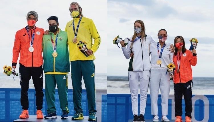 【初の五輪サーフィン種目で唯一メダルを2つ獲得した日本】メダリスト達の想いと今後の活動