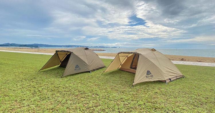 VASTLANDの新商品「ドーム型ツーリングテント ソロ」の特徴をご紹介!