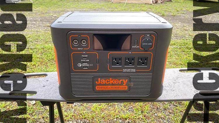 Jackery ポータブル電源 1500がおすすめ!ドライヤーや電気ケトルまで使用可能!