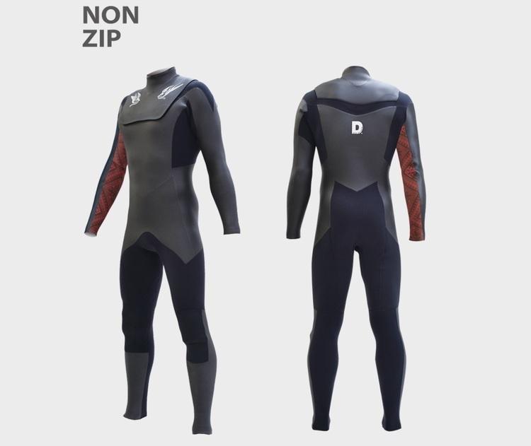 【初コラボ!】46年の歴史を持つDOVE surfing wetsuitsにSOFTMACHINE書き下ろしのニュー・オプション・カラーが登場!!