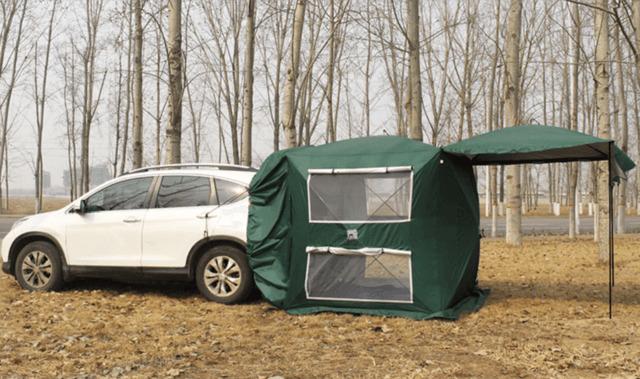 目標金額700%達成!たった60秒で組み立てが完了する車用テントをピックアップ