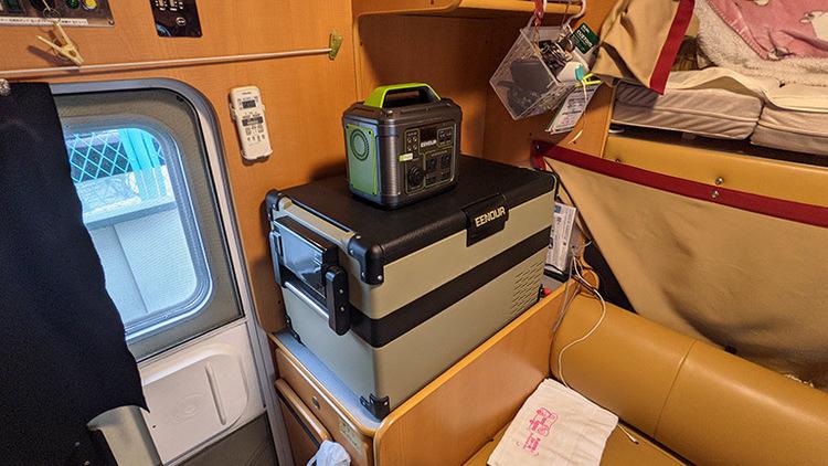 キャンピングカー・車中泊に車載用冷蔵庫を賢く選んで、ワンランク上の快適バンライフをゲットしよう