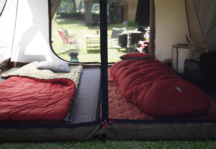 ファミキャン時の妻子用寝室が完成した