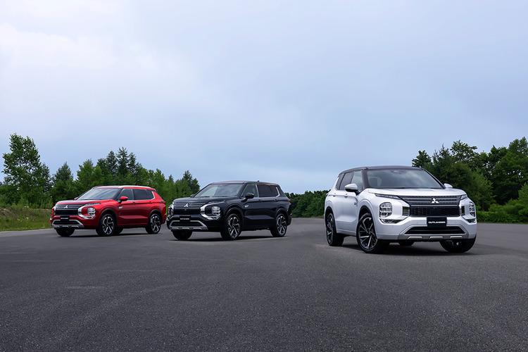 大注目SUVが12月中旬についに登場! 三菱新型アウトランダーPHEVの画像を公開