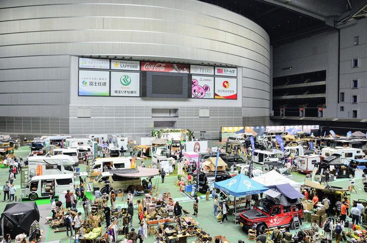 クルマと遊びを融合した新しいイベント「アソモビ2021」が埼玉スーパーアリーナで開催
