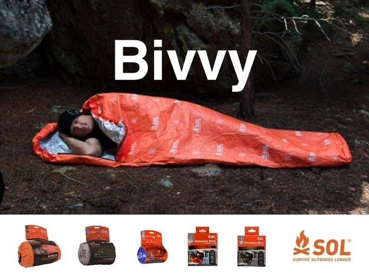 登山やキャンプのテント泊、タープ泊、車中泊とあると必ず役に立つ。「Bivvy(ヴィヴィ)」
