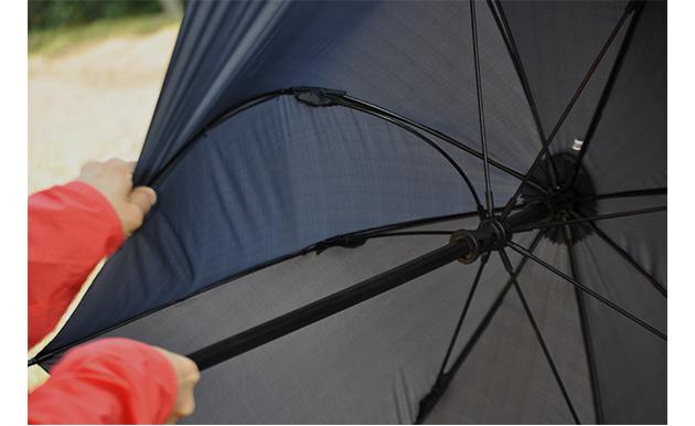 「頑丈過ぎる」スペックがハイカーの想像力を刺激する。アウトドア傘 birdiepal octagon で日本の山を楽しもう