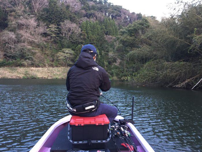 ある春の日、ikahimeさんと亀山バス釣りに行ってきた。ラストにラストエース
