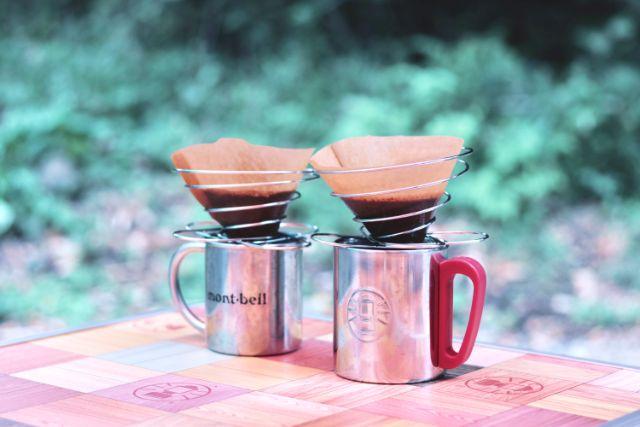 キャンプでドリップコーヒーを♪必要な道具&淹れ方をまとめました