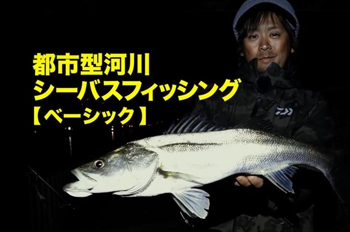 【動画】大野ゆうきが秋の都市型河川でシーバスを攻略!