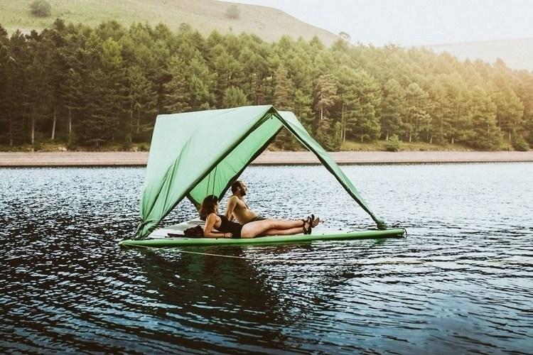 ボートやツリーハウスに変身!超高機能テント「Tentsile Universe」