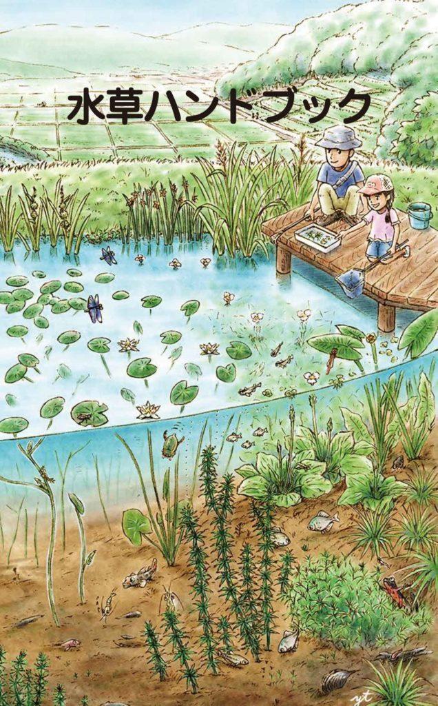 水辺のキャンプで役立つ!「図鑑:jp」に『水草ハンドブック』が追加