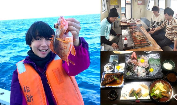 釣った魚で「船上BBQ」or「和食コース」!南知多の体験フィッシングが美味しすぎ♪